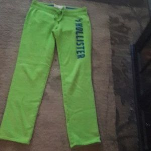 HOLLISTER California Sweat Pants, Size M. LIKE NEW